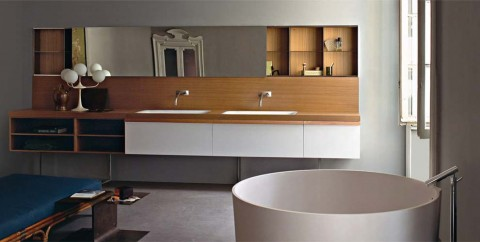 Agape design bad hamburg luxus badewanne badezimmer in out for Hochwertiger spiegelschrank bad